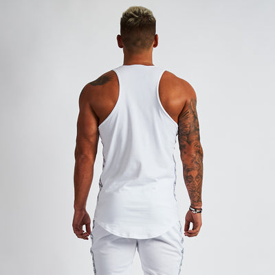 Vanquish LT v2 Men's White Tank Top