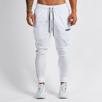 Vanquish LT v2 Men's White Tapered Track Pants