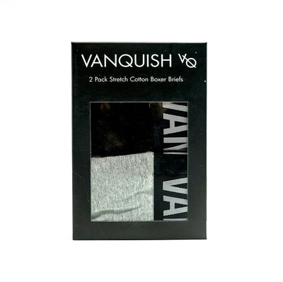 Vanquish Essential Men's 2 Pack Boxer Briefs
