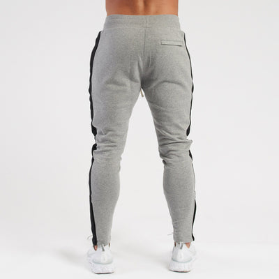 Vanquish Contrast Grey Tapered Sweatpants