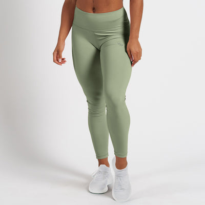 Vanquish Radiate Women's Olive Essential Leggings