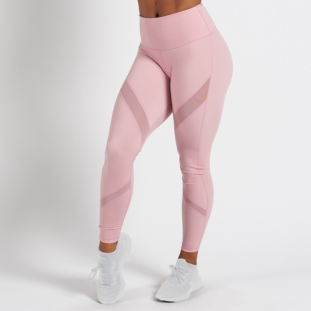 Vanquish Radiate Women's Pink Mesh Leggings