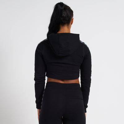 Vanquish Radiate Women's Black Cropped Hoodie