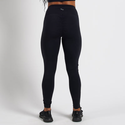 Vanquish Radiate Women's Black Mesh Leggings