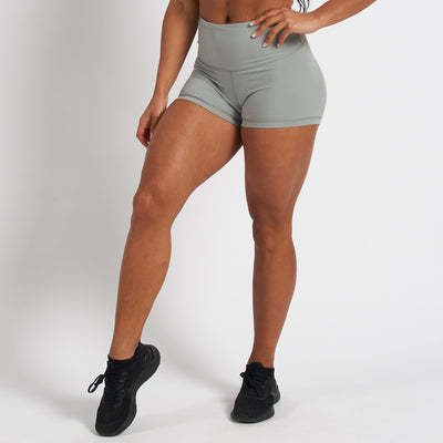 Vanquish Radiate Women's Grey Scrunch Shorts