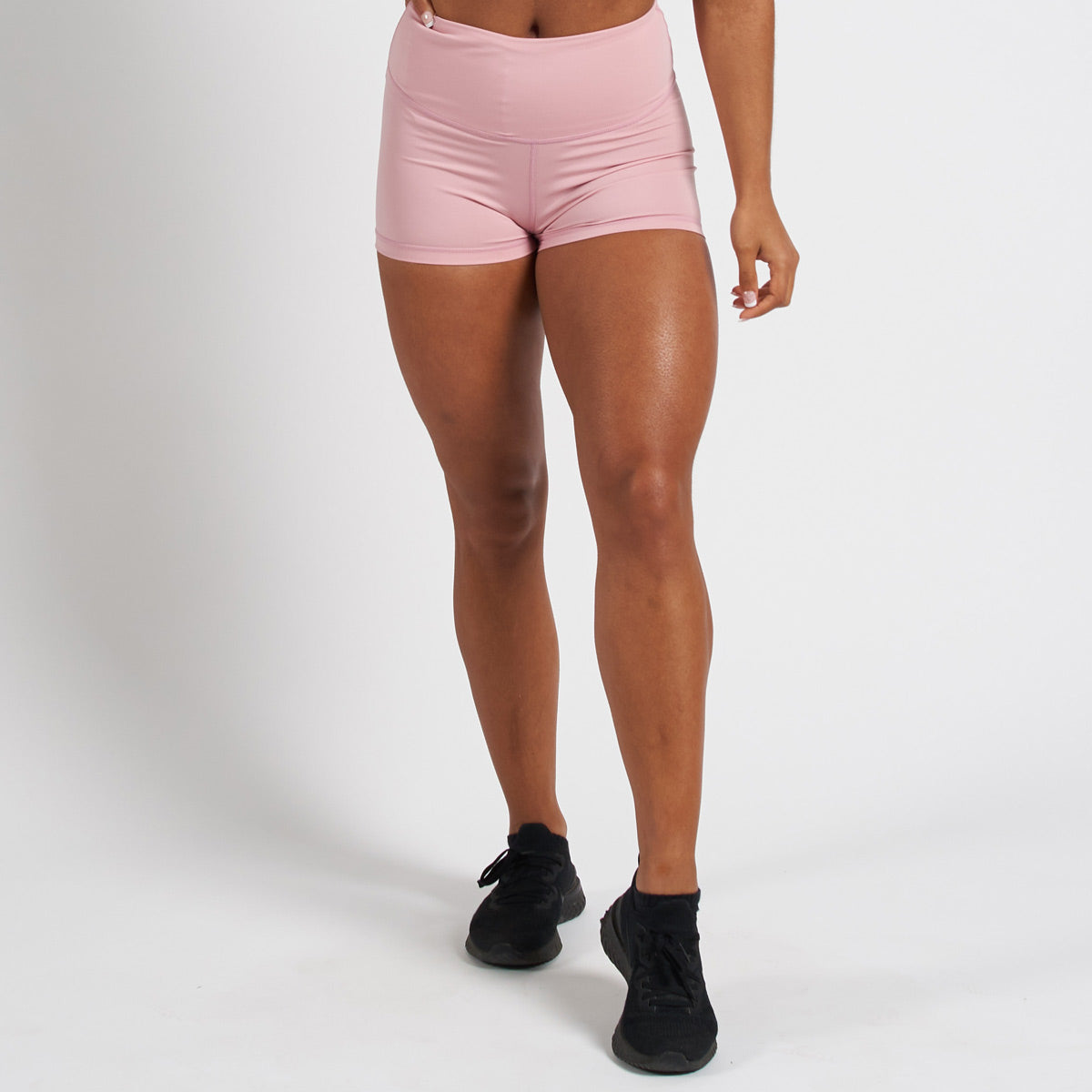 Vanquish Radiate Women's Pink Scrunch Shorts