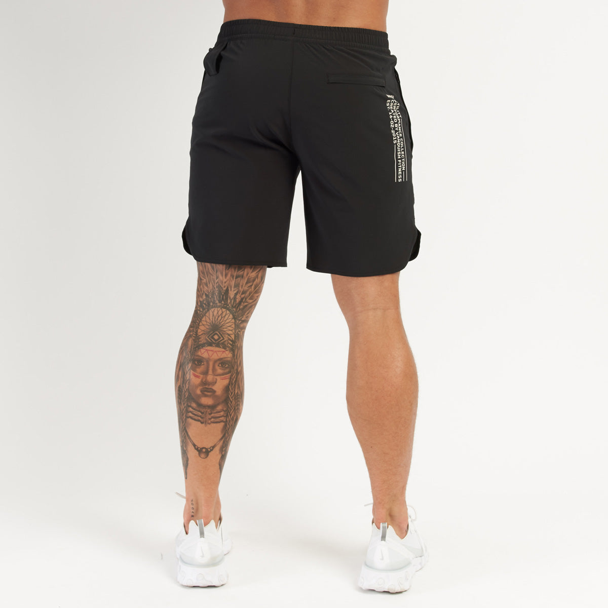 Vanquish Utility Men's Black 8 Inch Shorts