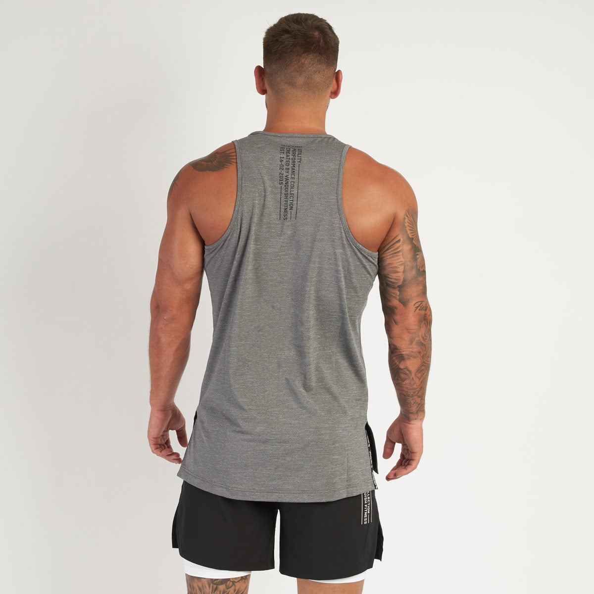 Vanquish Utility Men's Grey Tank Top