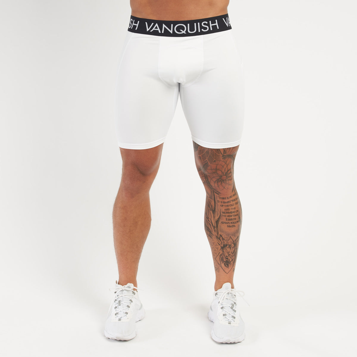 Vanquish Utility Men's White 1/2 Leggings