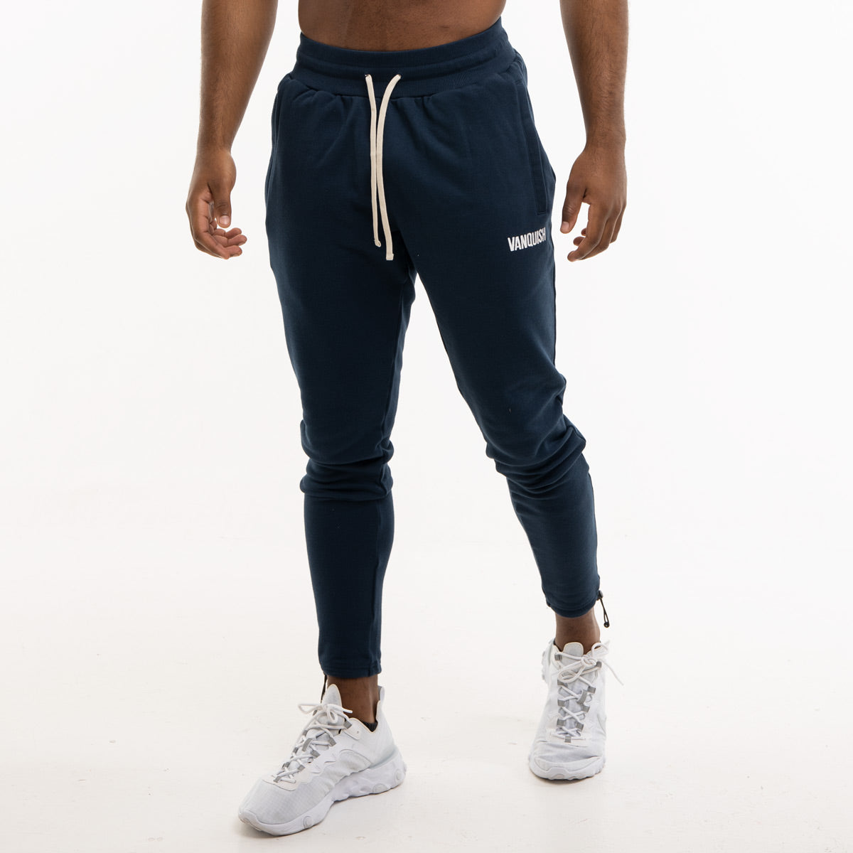 Vanquish Warm Up Project Navy Tapered Sweatpants
