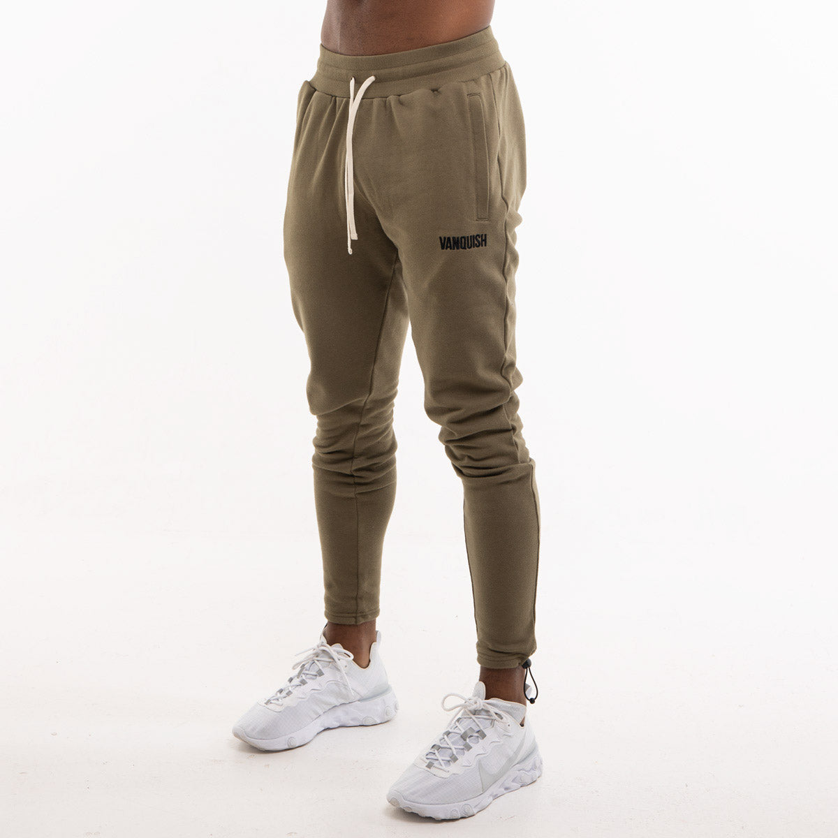 Vanquish Warm Up Project Olive Tapered Sweatpants