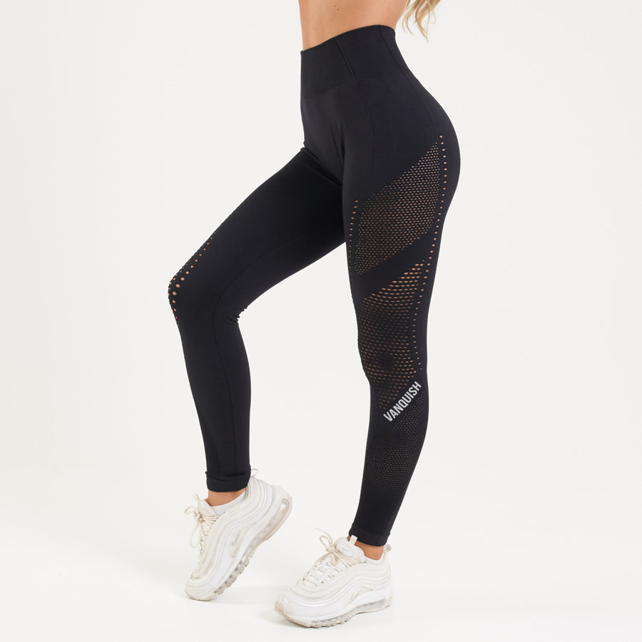 Vanquish Zeal Women's Black Seamless Leggings