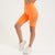 Vanquish Zeal Women's Orange Seamless Cycling Shorts
