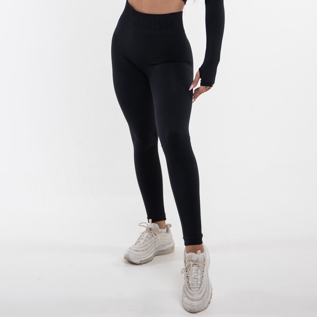 Vanquish Allure Women's Blackout Seamless Leggings