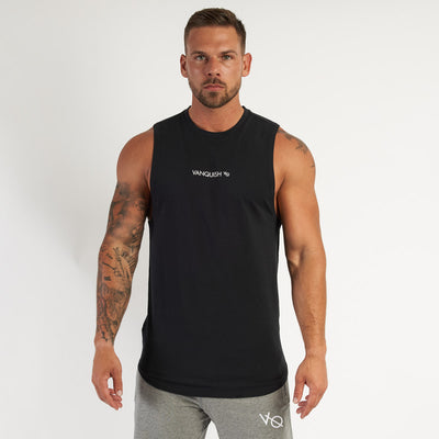 Vanquish Core Men's Black Sleeveless T Shirt