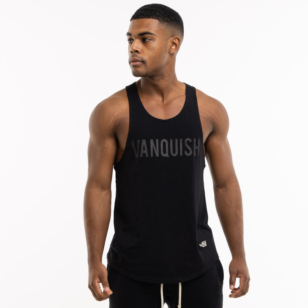 Vanquish Warm Up Project Blackout Tank Top
