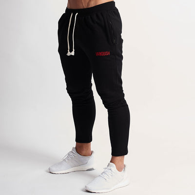 Vanquish Warm Up Black Tapered Sweatpants