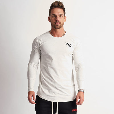 Vanquish Eclipse White Long Sleeved T Shirt