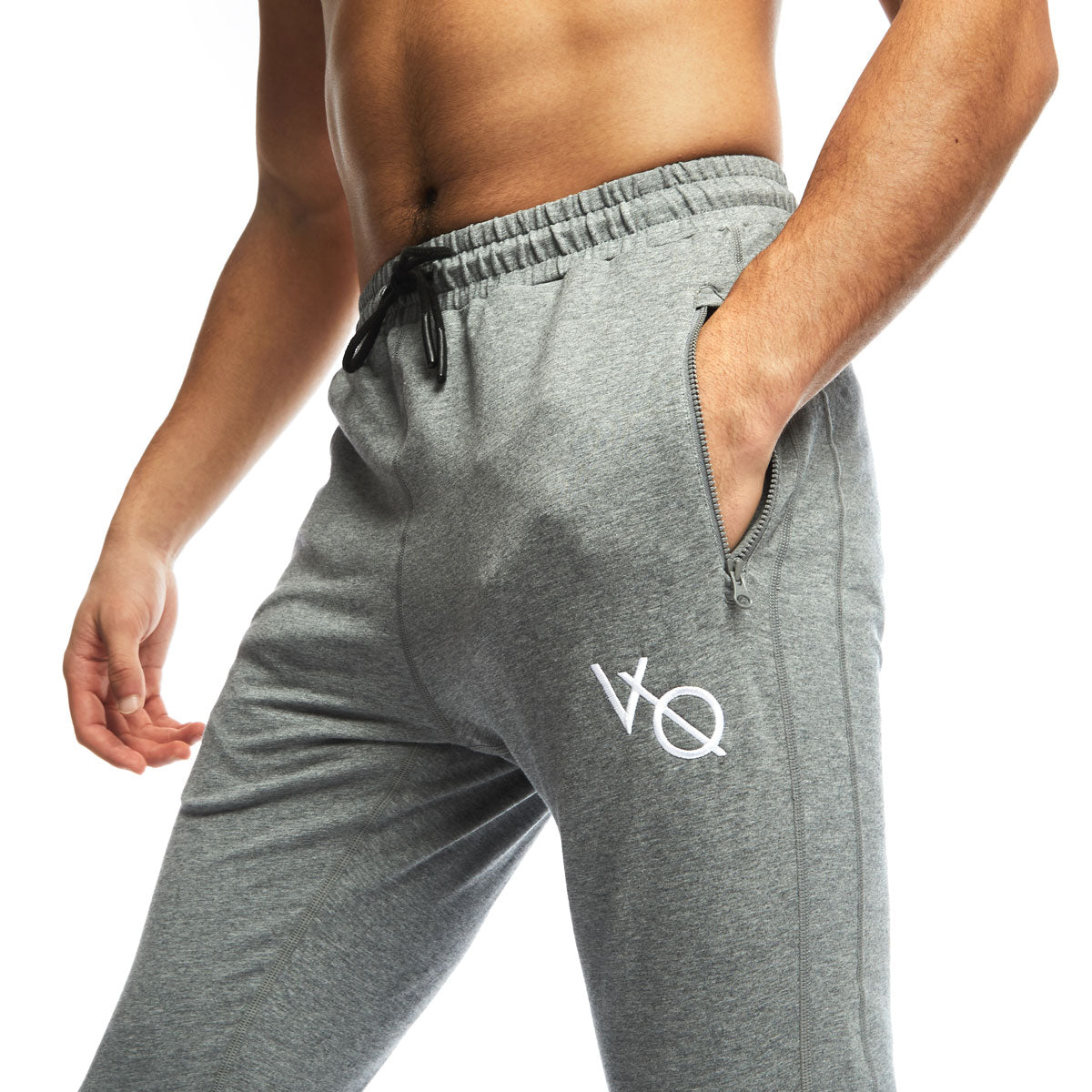VQFIT Grey Eclipse Tapered Sweatpants