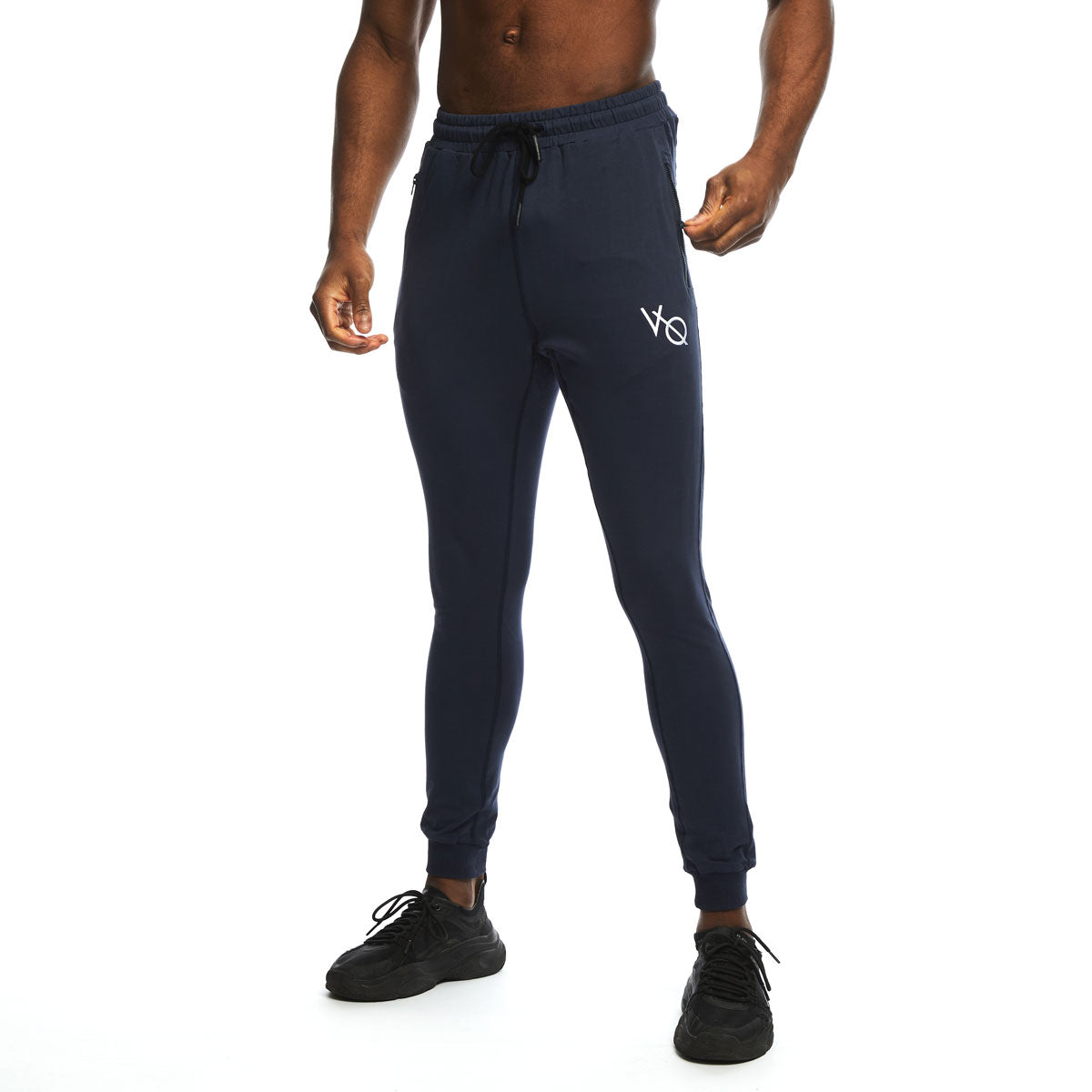 VQFIT Navy Eclipse Tapered Sweatpants