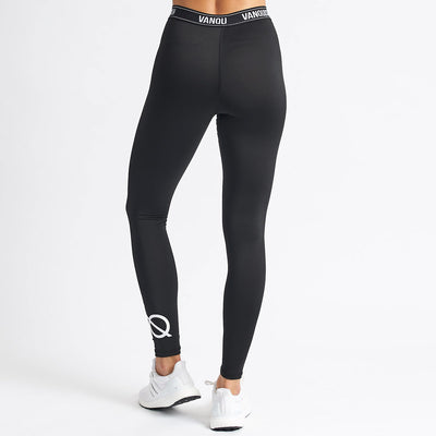 Vanquish Women's Essential Black Leggings
