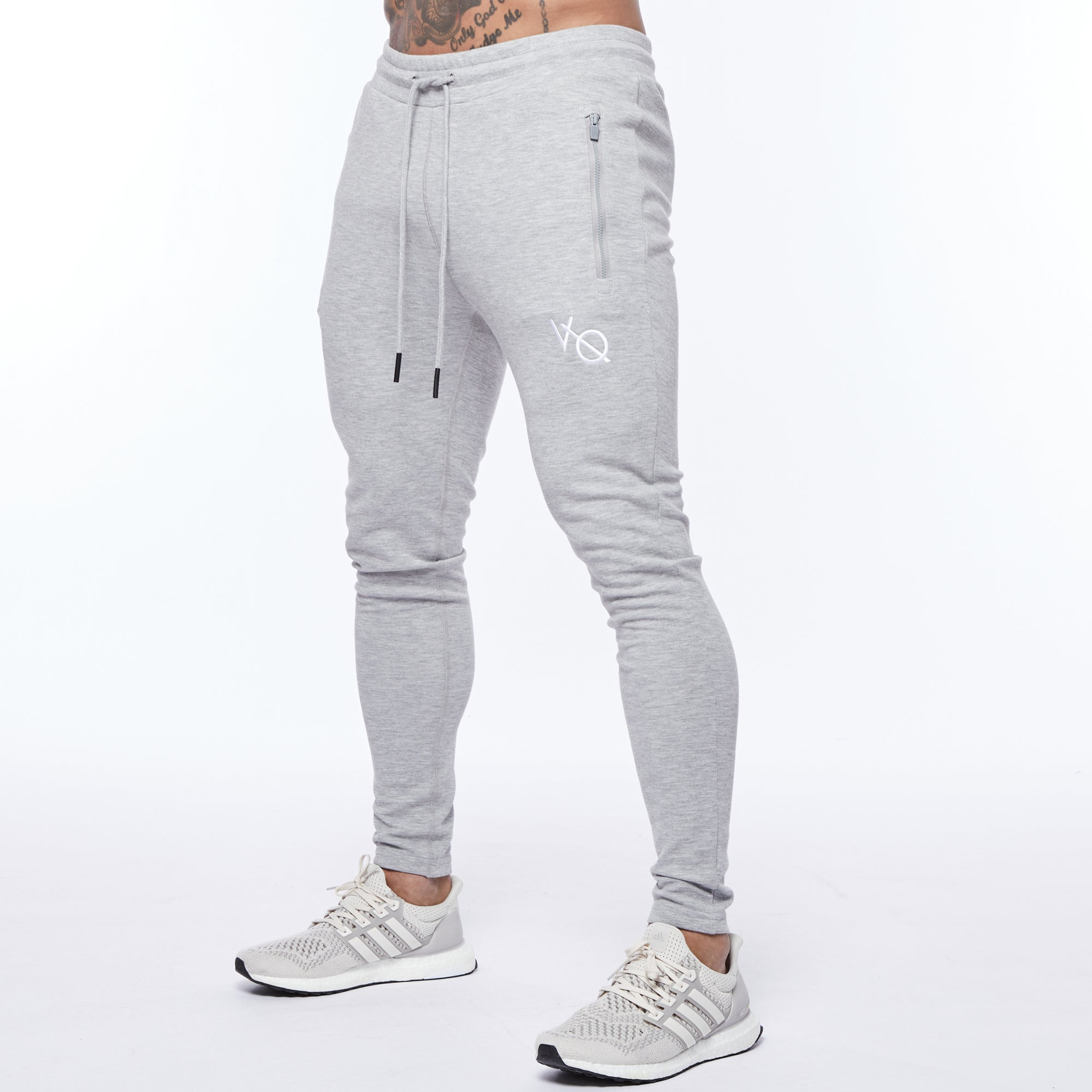 Vanquish Essential Ash Grey Tapered Sweatpants
