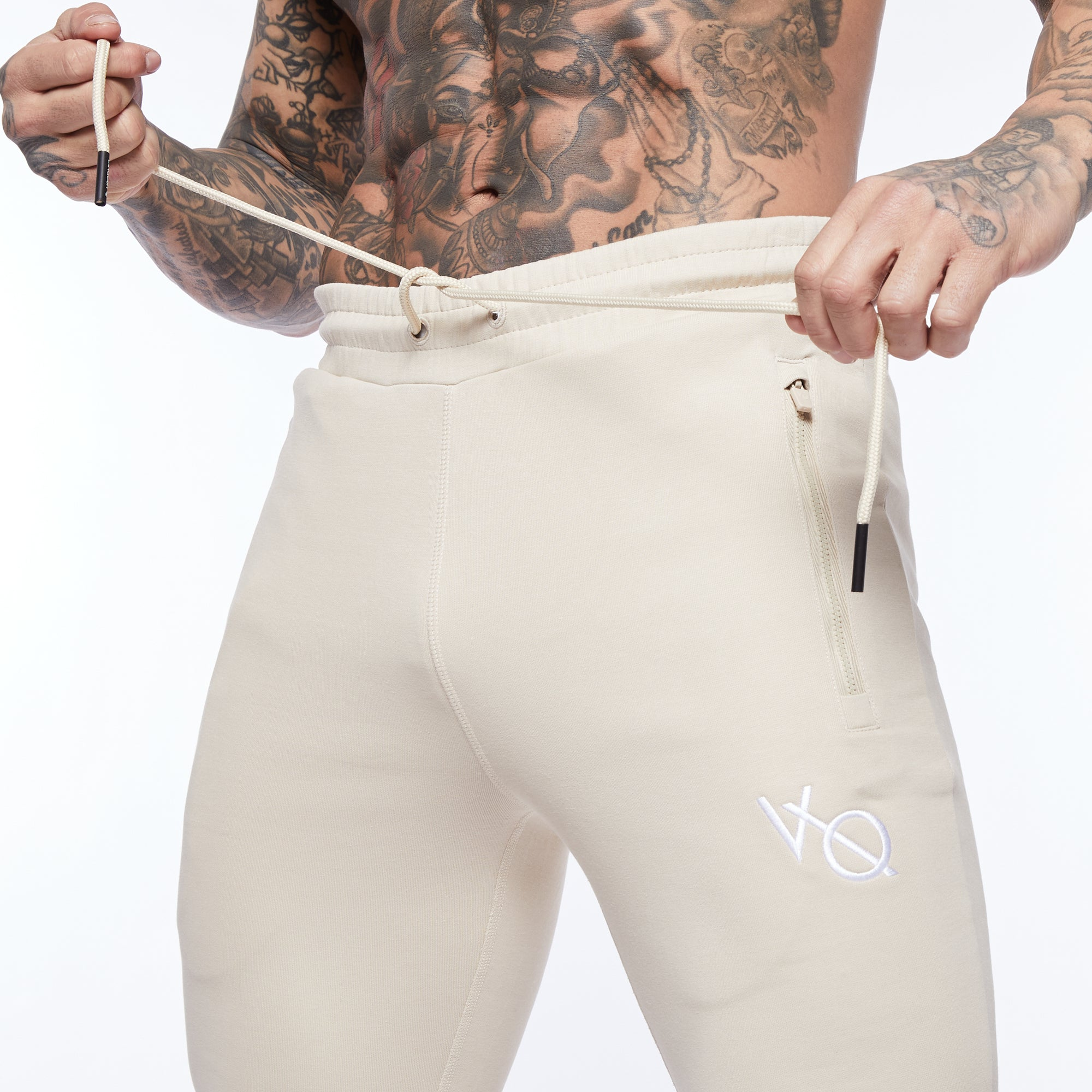 Vanquish Essential Stone Tapered Sweatpants
