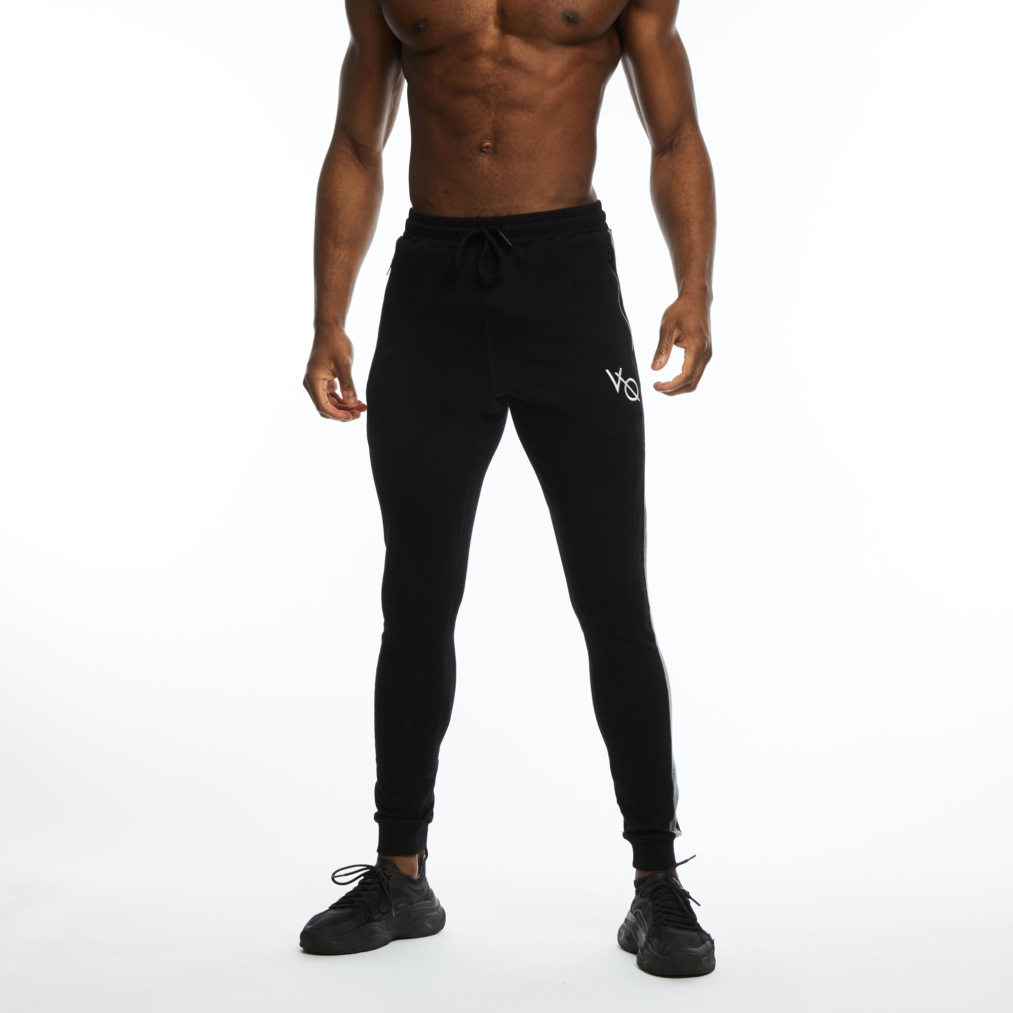 VQFIT Black Eclipse Strike Tapered Sweatpants