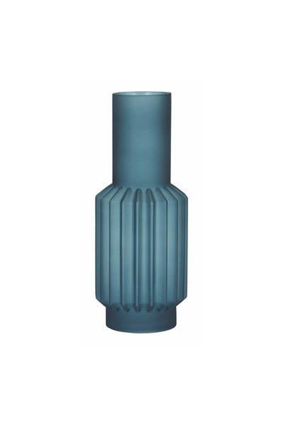 Cayne  Glass Vase Teal - My House Needs