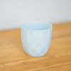 Facet Cup Set of 4- White, Grey, Blue Peacock Green - My House Needs
