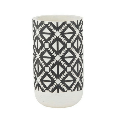 Lakota Tribal Cement Vase - My House Needs