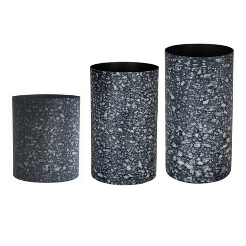 Marmo Dark Marble Vase Small, Medium, Large - My House Needs