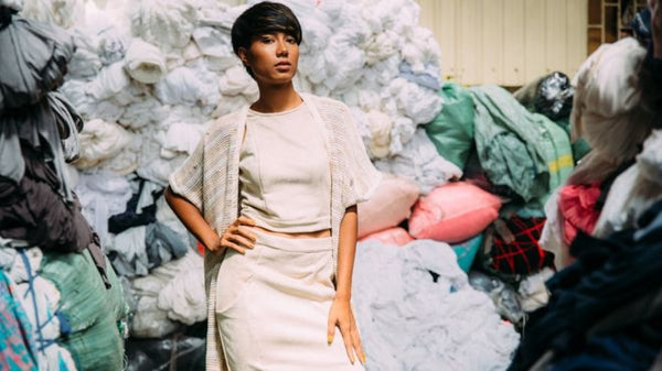 Waste caused by fast fashion
