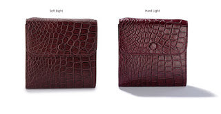 LIN8 Australia's luxury leather goods. Genuine crocodile leather purse with cross-body strap.