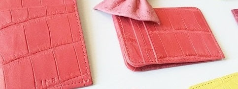LIN8 Australia's timeless slow fashion accessories. Sign up to win a genuine crocodile card wallet in August