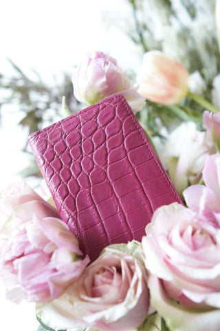 LIN8 Australia's bespoke luxury leather goods. Genuine crocodile leather card case holder wallet cheaper than Hermes, Louis Vuitton