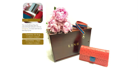 L I N 8 Melbourne Spring Fashion Week MSFW genuine Australian designer and handmade exotic fashion leather accessories