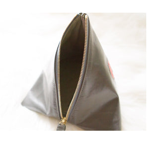 LIN8 Australia's first smart fashion. Unique pyramid shaped clutch bag handcrafted in Australia