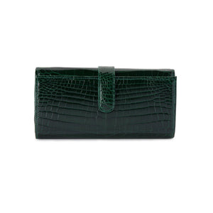 LIN8 Australia's luxury crocodile leather women's long wallet purse