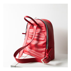 LIN8 Australia's first smart fashion.Bespoke leather backpack made in Australia