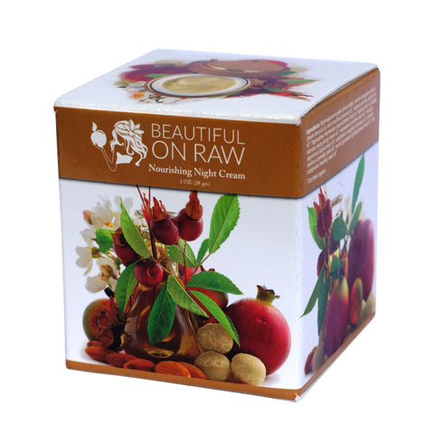 Beautiful on Raw - Nourishing Night Cream Box