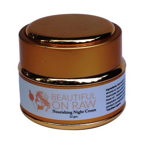 Beautiful on Raw - Nourishing Night Cream Pot