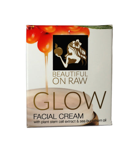 Beautiful on Raw 'Glow' Facial Cream Box
