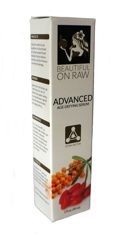 Beautiful on Raw - Advanced Age-Defying Serum Box