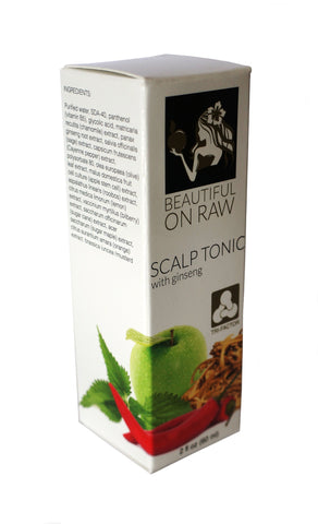 Beautiful on Raw - Scalp Tonic Box