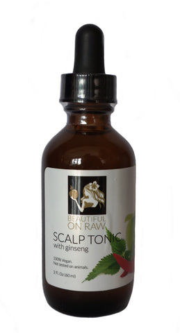 Beautiful on Raw - Scalp Tonic Bottle