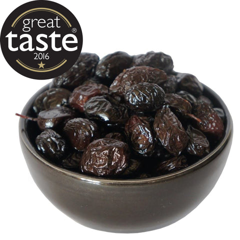 Organic Throuba Olives 1.8% Salt (AKA Lightly Salted Throuba Olives)
