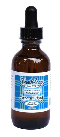 Toothsoap Liquid - Peppermint