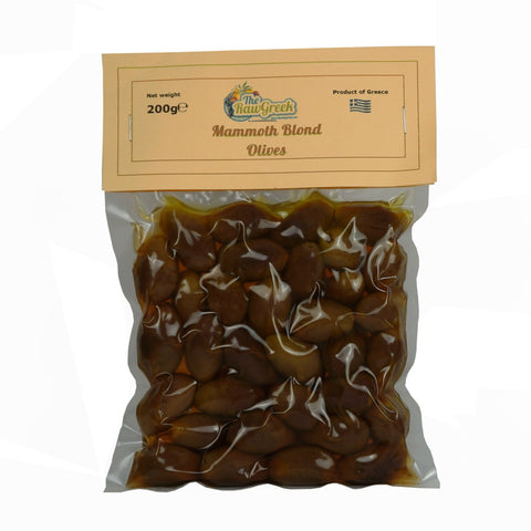Mammoth Blond Olives 200g
