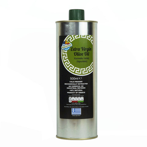 Organic Extra Virgin Olive Oil from Koroneiki Olives (Agourelaio)